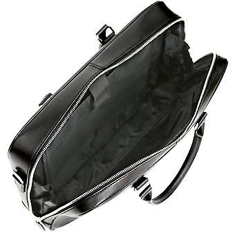Bolsa de negocios Babila S piel Saffiano maletín portátil con el Tablet de bolsillo