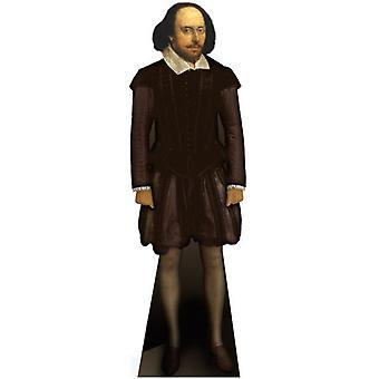 William Shakespeare - Lifesize pahvi automaattikatkaisin / seisoja