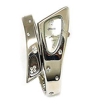 The Olivia Collection Allure Silver Ladies Diamante Fashion  Watch TOC09