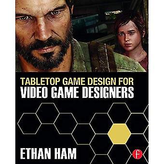 Tabletop Game Design voor Video Game Designers