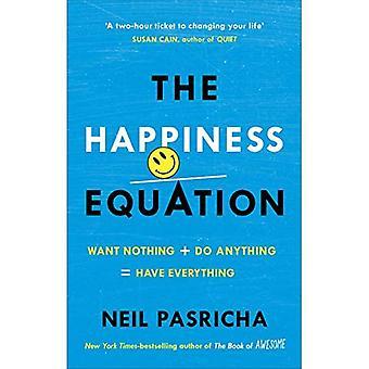 De vergelijking van geluk