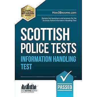 SCOTTISH Police INFORMATION HANDLING Tests 2016 version: Standard Entrance Test (SET) sample test questions and...