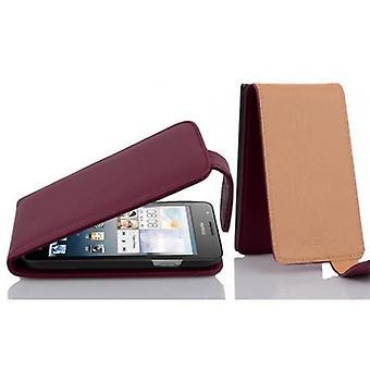 Caso cadorabo para Huawei ASCEND G525/G520 caso capa-telefone caso em flip design em couro sintético texturizado-caso capa caso caso caso caso caso livro dobrável estilo
