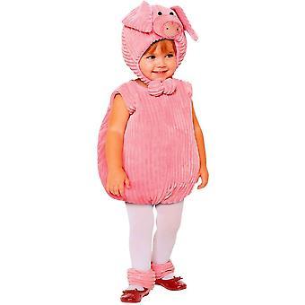 Costume enfant mignon de porc