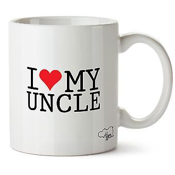 Hippowarehouse Rakastan setäni painettu muki Cup keraaminen 10oz