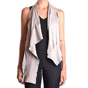 Dondup Ezbc051011 Dames's Grey Cotton Vest