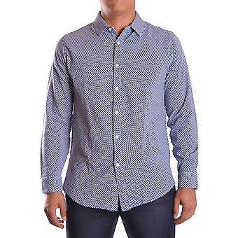 Altea Ezbc048005 Men's Blue Cotton Shirt