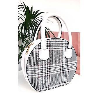 IKRUSH Womens Check Rhanee cerchio Handbag