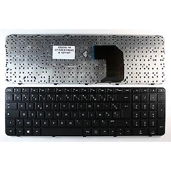HP Pavilion G7-2254CA Black Frame Black Windows 8 French Layout Replacement Laptop Keyboard