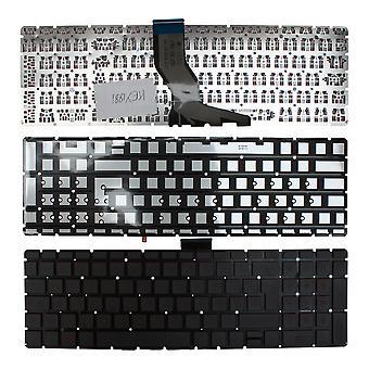 HP Pavilion 15-ab200ni taustavalaistu musta Windows 8 Ranskan layout korvaaminen Laptop Keyboard