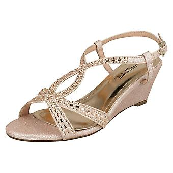 Ladies Anne Michelle Wedge Sandals
