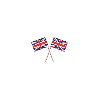 Union Jack Wear Union Jack Flag Party Picks - Pack Of 100