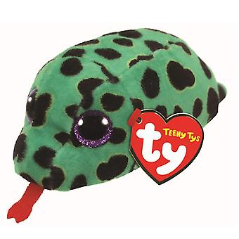 TY Beanie Babies Teeny point mousse le Reptile serpent