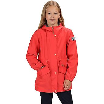 Regatta Girls Tamora Long Length Waterproof Jacket