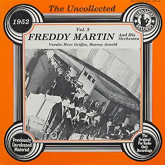 Freddy Martin & Orchestra - Uncollected 3 [Vinyl] USA import