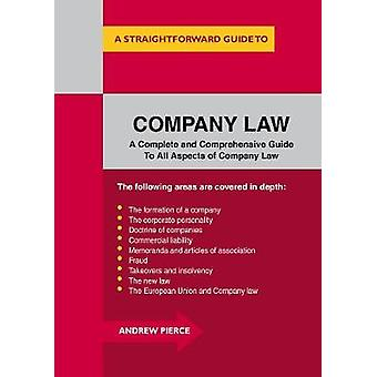 Company Law by Andrew Pierce - 9781847166982 Book
