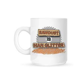 Grindstore Sawdust Is Man Glitter Mug
