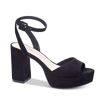 Chinese Laundry Womens Trixi Open Toe Casual Ankle Strap Sandals