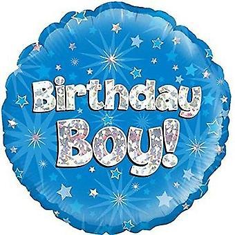 Oaktree 18 Inch Birthday Boy! Foil Balloon