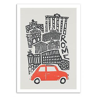 Konst-Poster - Rom - Räv och sammet