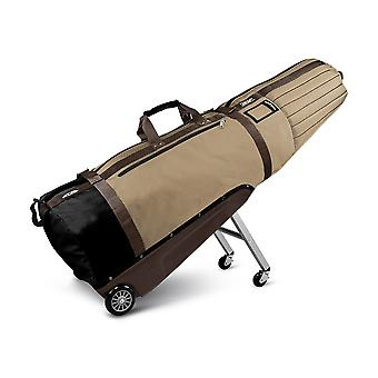 Sun Mountain ClubGlider Meridian Gepolsterte Golf Wheeled Travel Flight Cover Khaki/Brown