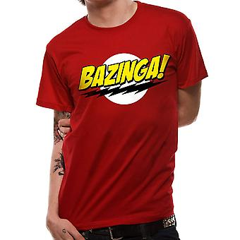 Men's Big Bang Theory Bazinga Logo T-Shirt
