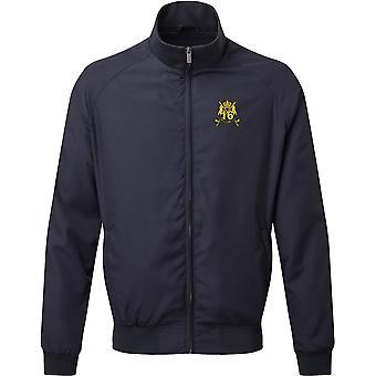 16ème 5ème The Queens Royal Lancers - Licensed British Army Embroidered Harrington Jacket
