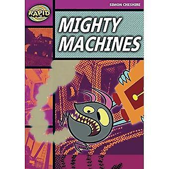 Rapid Stage 3 Set A: Mighty Machines (Series 2): Series 2 Stage 3 Set (RAPID SERIES 2)