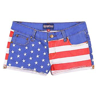 USA-Junioren-Jeans-Shorts
