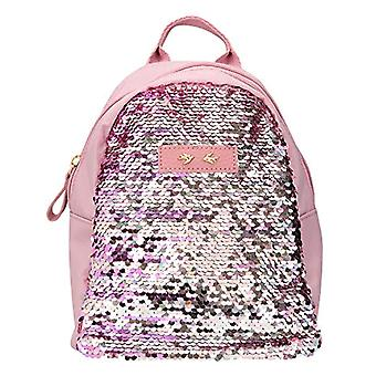 Depesche 10043 - Backpack with Sequins Trend Love - Color: Malva