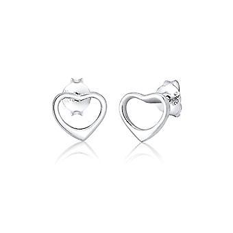 Elli Silver nåle øreringe til kvinder 310611617