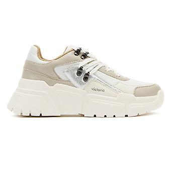 Victoria Totem Womens White Trainers