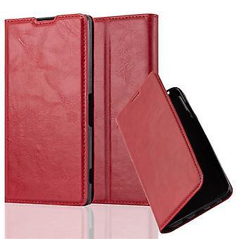 Cadorabo Funda para Sony Xperia Z2 Funda de Funda - Funda de teléfono con cierre magnético, función de soporte y compartimiento de la caja de la tarjeta - caso de la caja de la caja del caso del libro plegable estilo plegable del libro