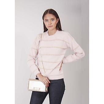 Saint Tropez Gold Stripe Knit
