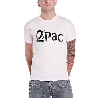 Tupac T Shirt Changes Back Print Repeat Logo nouveau blanc officiel homme