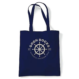 Goon Docks Goonies Movie Inspired, Tote - Reusable Shopping Canvas Bag Gift