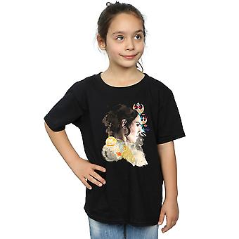 Star Wars The Rise Of Skywalker Rey Collage Girls T-Shirt