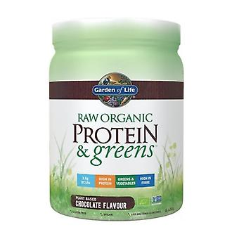Garden Of Life Raw Organic Protein & Greens Chocolate 458g (1296)