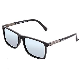 Zucht Caelum Polarisierte Sonnenbrille - Schwarz/Silber