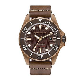 Spinnaker SP-5060-01 Gent's Tesei Brown Dial Wristwatch
