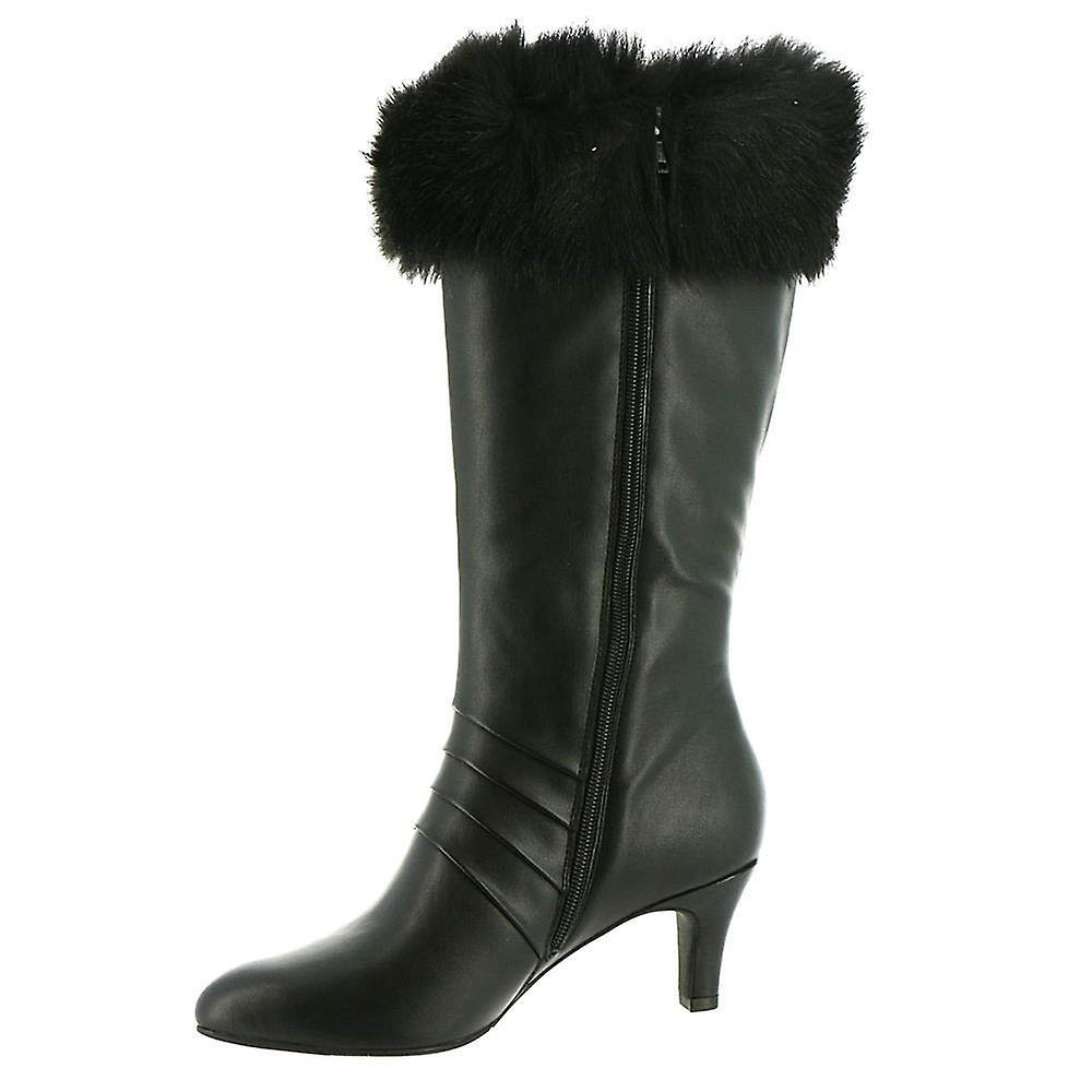 ARRAY Womens Erica Almond Toe Knee High Fashion Boots
