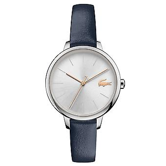 Lacoste 2001100 Women's Cannes Blue Leather Wristwatch