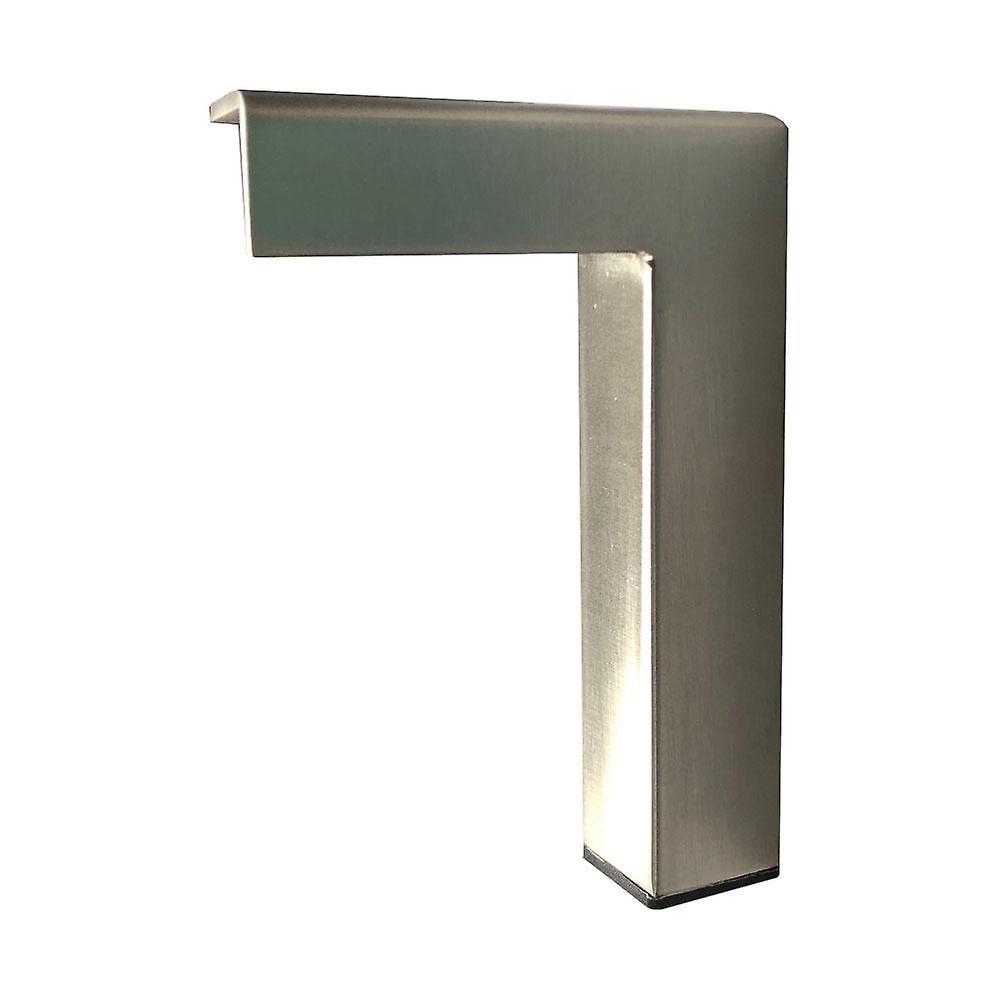Jambe de coin de conception en acier inoxydable 15 cm