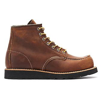 Red Wing Shoes Classic Moc Toe Mens Copper Boots