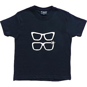 Two Ronnies Navy Blue Kids' T-Shirt
