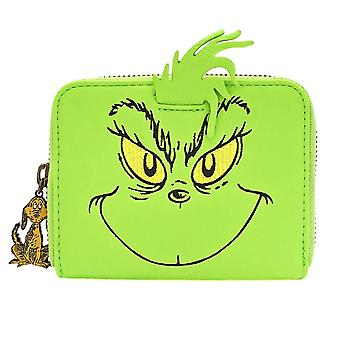 Loungefly x Dr. Seuss The Grinch Cosplay Zip-Around Purse
