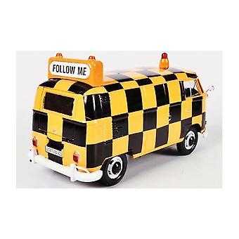Motormax motormax Volkswagen VW type 2 (T1) luchthaven ' Volg mij ' bus 1:24