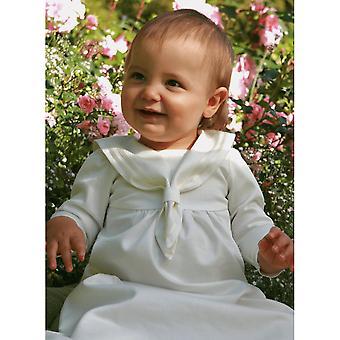 Abito battesicolare Grace Of Sweden - In stile marinaio con maniche lunghe