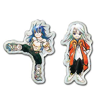 Pin Set - Tales Of Symphonia - New SD Regal & SD Raine (Set of 2) ge50166