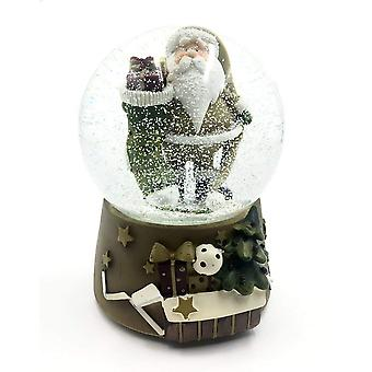 Father Christmas Snow Globe